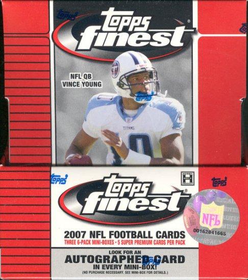 2007 Topps Finest Football Hobby Box