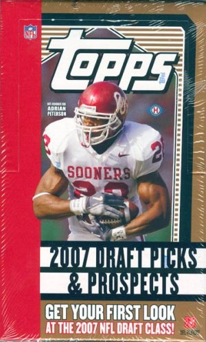 2007 Topps Draft Picks & Prospects Football Hobby Box