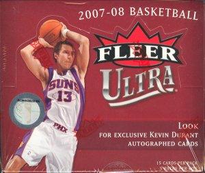 2007/08 Fleer Ultra SE Basketball Hobby Box
