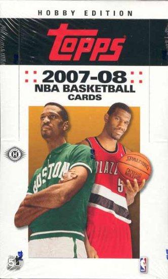 2007/08 Topps Basketball Hobby Box