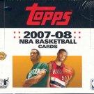 2007/08 Topps Basketball Jumbo HTA Box
