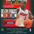 2006/07 Topps Triple Threads Basketball Hobby Box