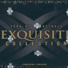 2006/07 Upper Deck Exquisite Collection Basketball Hobby Box