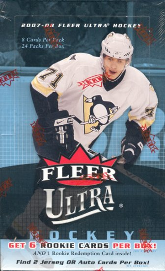 2007/08 Fleer Ultra Hockey Hobby Box