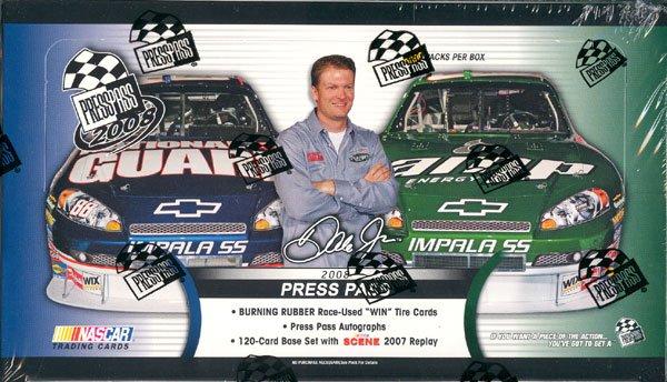 2008 Press Pass Nascar Racing Hobby Box