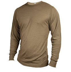 Doug Hoschek Long Sleeve FR Tee Shirt S M L XL Fire Resistant Military Green or Tan