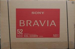 Sony Bravia kdl52xbr5