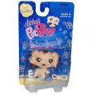 "Littlest Pet Shop ""Cuddliest"" Figure Cocker Spaniel with Chew Toy"