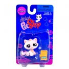 "Littlest Pet Shop ""Littlest"" Figure Pink Kitty Cat with Canned Sardines"