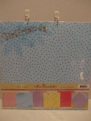 "Girl Friend Scrapbooking Papers 12"" x 12"""