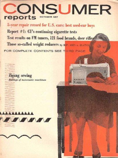 CONSUMER REPORTS - OCTOBER 1957