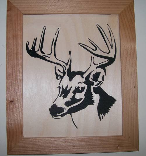 Whitetail Deer1 Scroll Saw Picture