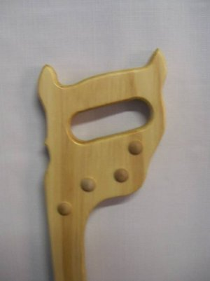 WALKING CANE HANDSAW SHAPED