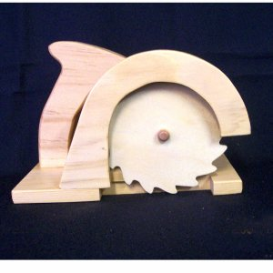 WOODEN TOY CIRCULAR SAW, TOOL