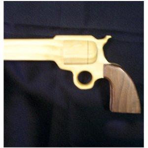 GUN CANE, COLT 45 REVOLVER PEACE MAKER WALKING CANE