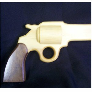 GUN CANE, 38 SPECIAL REVOLVER WALKING CANE