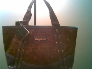AUTHENTIC BABY PHAT SPARKLE SIGNATURE SMALL TOTE BAG