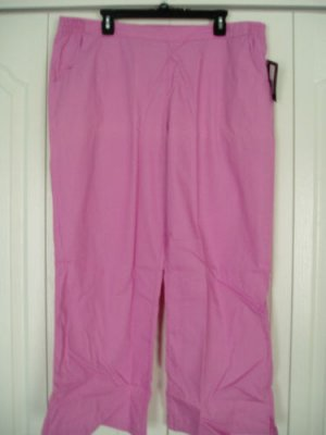 Dickies Medical Uniform Pants Bottom Lab Scrubs XL Pink