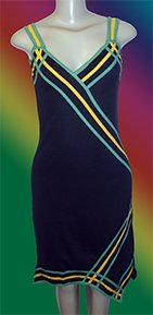 Dress - Black Jamaica Strap