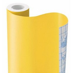 HOT YELLOW SOLID CONTACT PAPER DRAWER SHELF LINER