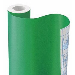 GREEN SOLID CONTACT PAPER ADHESIVE DRAWER SHELF LINER