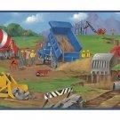 Construction Kids Boys Room Wallpaper Wall Border