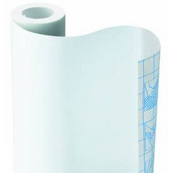 SOLID WHITE SELF-ADHESIVE CONTACT PAPER SHELF LINER 9ft