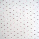ROSE BUDS ON WHITE FLORAL CONTACT PAPER SHELF LINER