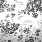 Black Toile Contact Paper 451