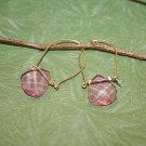 Pink Swarovski Earrings