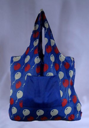 Reusable TuckerBags Shopping Tote Eco-Friendly Balloons with Pouch
