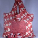 Reusable TuckerBags Tote Eco-Friendly Birds and Flowers with Pouch