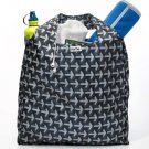 RuMe Bag Eco-Friendly Reusable Shopping Tote ESC Black Gray