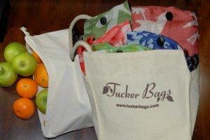 Shopping Kit 3 Eco-Friendly Totes & 3 Organic Produce Bags