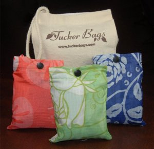 Shopping Totes eco-friendly 3 Bags Kit by Tucker Bags Combo