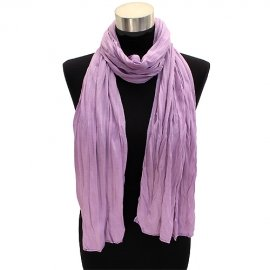 Jersey Purple Scarf Long Light Weight Soft Wrap Lilac Shawl