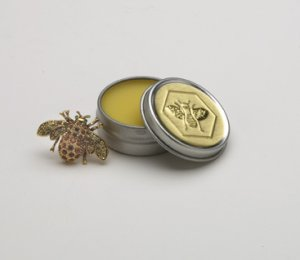 Lip Butter Balm Lemon Honey House Naturals in a Reusable Tin