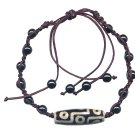 Lucky Tibetan Bead Bracelet Hippie Style Jewelry Adjustable