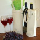 One Wine Bag Recycled Cotton Canvas Eco-Friendly by EcoBags