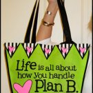 Tingle Totes Eco-Friendly Shopping Bag Plan B Green Recycled Reusable
