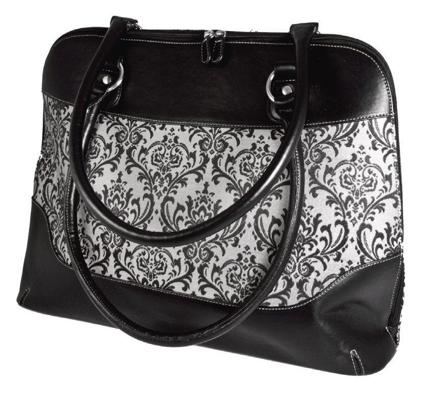 Classic Zip-Around Bag Viva Beads Inspired Handbag Leather Jacquard Purse