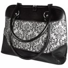 Classic Zip-Around Bag Viva Beads Inspired Handbag Leather Jacquard Purse