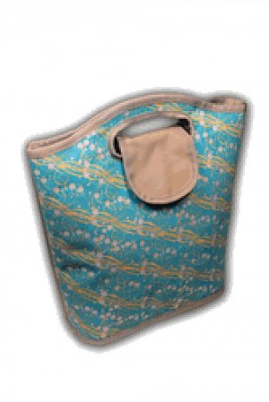 Viva Beads Lunch Bag Insulated Tote Eco-Friendly Coral Reef Pattern