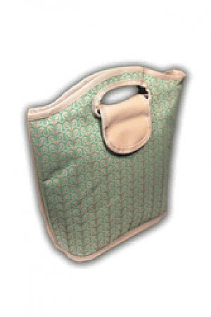 Viva Beads Lunch Bag Insulated Tote Eco-Friendly White Sand Pattern
