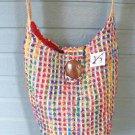 Hobo Handbag Viva Beads Inspired VB2 Shoulder Bag Wide Strap