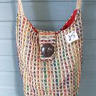 Viva Beads Inspired Hobo Handbag VB2 Shoulder Bag Wide Strap