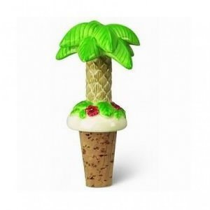 Bottle Topper Cape Shore Palm Tree Cork Wine Stopper Bar Accessory