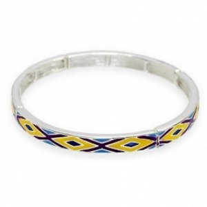 Bangle Bracelet Bohemian Look Stretch Style Fashion Jewelry