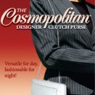 Flat Wallet Cosmopolitan Designer Large Clutch Purse 4 Colors