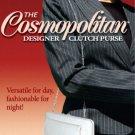Flat Wallet Cosmopolitan Designer Large Clutch Purse 4 Colors